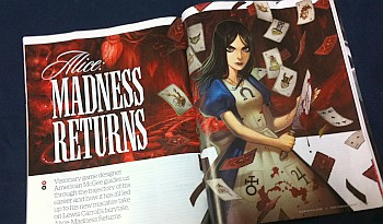 GamePro9月号Alice: Madness Returns特集1