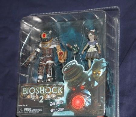Bioshock2のフィギュア・ブリスターパックタイプ