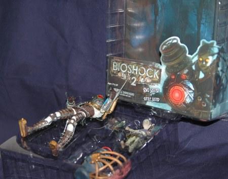 Bioshock2のフィギュア・取り出し