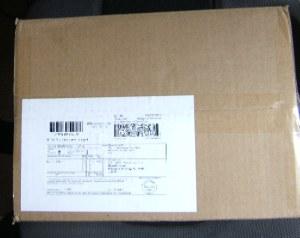 送付された箱