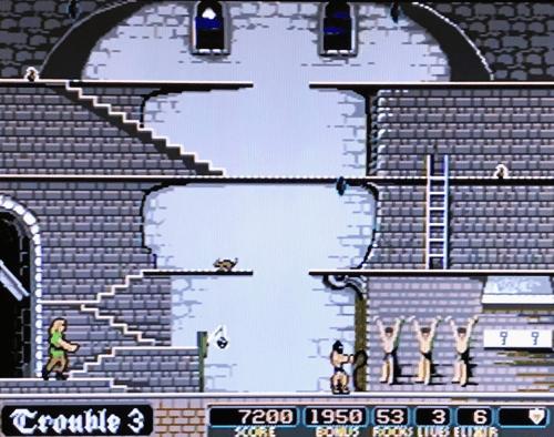 Genesis版Dark Castle
