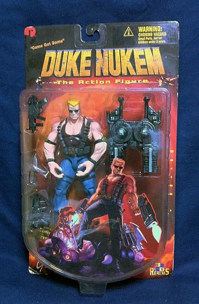 Duke Nukem 3Dフィギュア