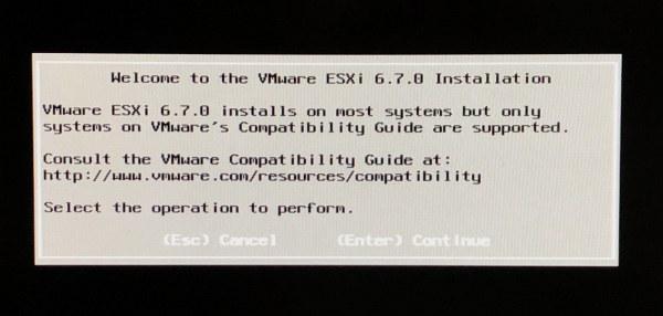 ESXi 6.7 u2