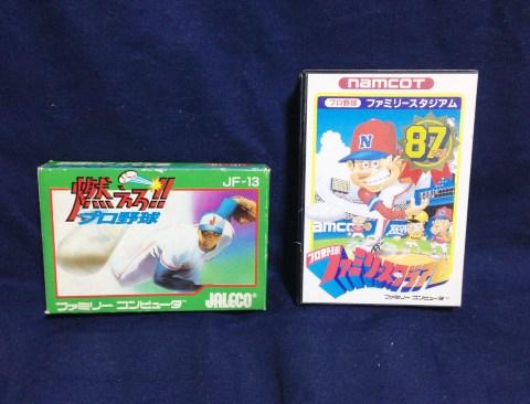 ファミコン野球ゲーム