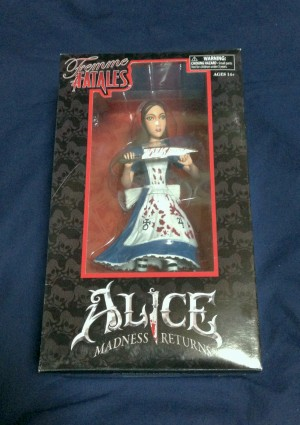 Femme Fatales: Alice Madness Returns PVC Statue