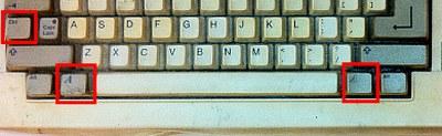 Amiga再起動ボタン