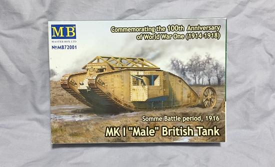 1/72 Master Box Mk.I Male