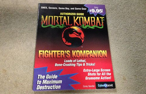 Mortal Kombat Strategy guide
