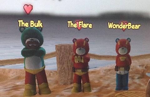 The Bulk、The Flare、Wonder Bear
