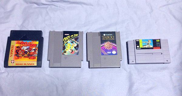 NES(海外版ファミコン)ソフト購入