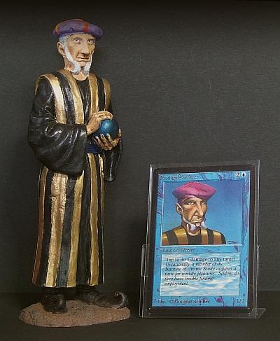 放蕩魔術師 Prodigal Sorcerer のフィギュア