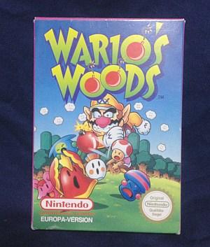 wario's wood欧州版パッケージ表