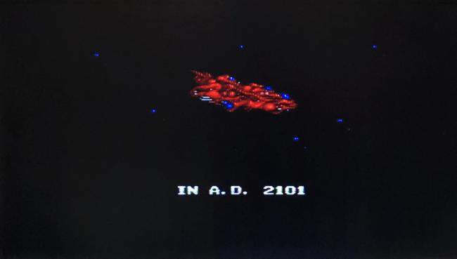 欧州Mega Drive版ゼロウィング